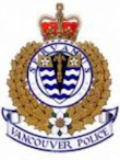 Vancouver Police Crest 110