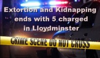 Extortion and Kidnapping ends with 5 charged in Lloydminster