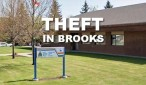 Brooks RCMP Detachment Theft
