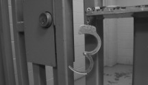 Jail Cell and Cuffs