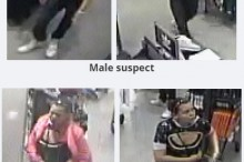 On June 13, 2015, a male and female entered a store in the Kingsway Mall and purchased a large quantity of clothing with a stolen credit card.