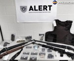 Guns Seized from Downtown Red Deer