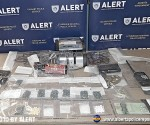 As result of the search warrant ALERT seized 423 fentanyl pills, 21 grams of methamphetamine, and $1,530 in cash proceeds of crime.