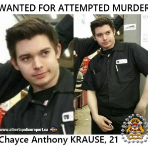 "KRAUSE is described as Caucasian, 5'7"" tall, with a slim build. He has brown hair and brown eyes and was last seen wearing black pants, a black nylon zip-up jacket and was carrying a backpack."