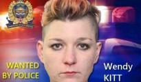 Wendy KITT is wanted by police in Edmonton, Alberta.