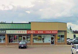 The Liquor Barn located at 181 Carry Dr SE, Medicine Hat, Alberta (Google)