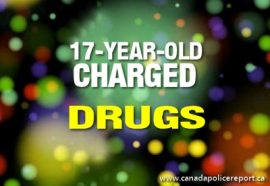 A 17-year-old has been charged with Possession for the Purpose of Trafficking Marihuana.