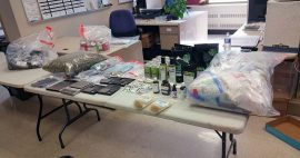 Marijuana dispensary search warrant executed. TPS