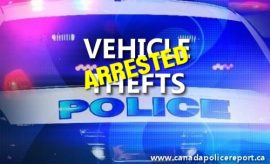 The 38 year old male suspect was found to be on outstanding warrants in Westlock, Athabasca and Barrhead.